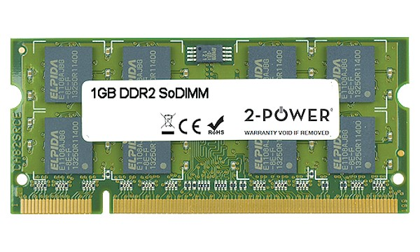 Satellite C650-110 1GB DDR2 800MHz SoDIMM