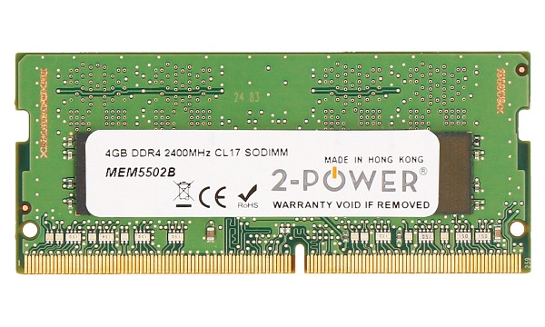 Pavilion Power 15-cb014no 4GB DDR4 2400MHz CL17 SODIMM