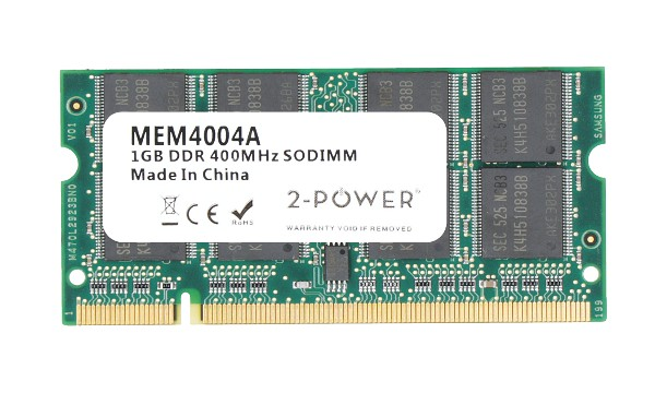 Aspire 3680 1GB PC3200 400MHz SODIMM