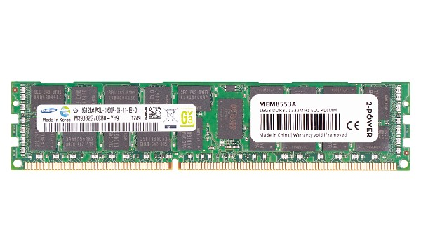 ProLiant SL270s Gen8 Base 4U Left H 16GB DDR3 1333MHz RDIMM LV