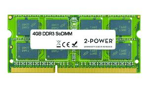 4GB MultiSpeed 1066/1333/1600 MHz SoDiMM