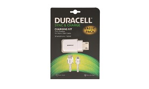 Duracell 2.1A Phone/Tablet Charger+Cable